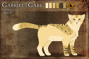 Gabriel Reference by casket