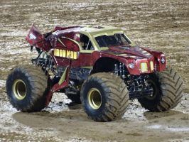 Monster Jam Adelaide 2014: Iron Man 06 by lizardman22