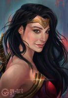 Wonder Woman by gv-art
