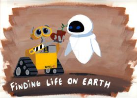 :Wall-E:FLOE: by g0N3Morganna