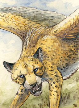 ACEO for Cybre by Dragarta