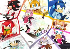 Sonic Couples in Vocaloid by DreamingClover