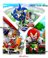 BroDogz Sonic Fans Network Contest Entry by BroDogz