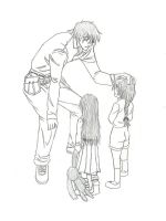 Pip Bernadotte : With the Kids by Pip-x-Seras