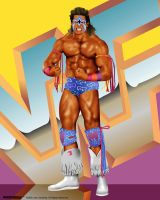 WWF Legends - Ultimate Warrior by sanchezdesigns