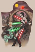 jedi vs sith by darthdifa