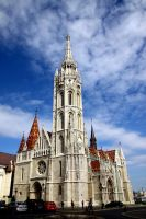 Matthias Church, Budapest by Reiep