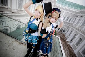 Love Live! - Job Eli x Kotori by Xeno-Photography