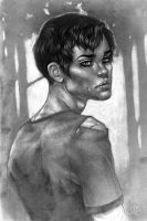 PBN character portrait: Jamie by shley77