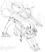 Cello Wolf by itsmar