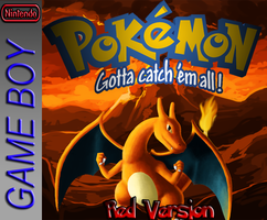 Pokemon Red Fan Made Box Art by JanetAteHer