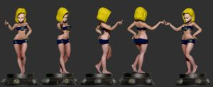 Android-18 by SergioGM