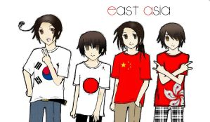 APH - East Asia by xxritsu-chanxx
