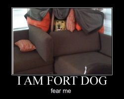 Fort Dog by FreociaCoutura