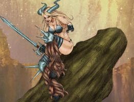 Magik Perched  by Selkirk by carol-colors