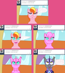 Ask Twilight and Copycat #30 by Kendell2