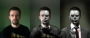 From guy to zombie by Zoltan-Graphics