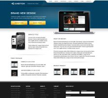 Ambition Wordpress by ddwebstudios