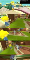 How Link got his tunic by insaneplayer03