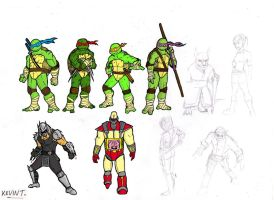 TMNT by KevinTrentin