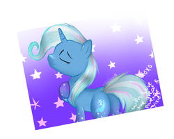 The great and powerful Trixie rainbow power by xStarlightSentry