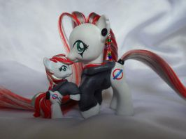 Commissioned Pony + Blind Bag by StarshinesCustoms