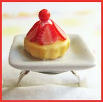Strawberry Tartelette Ring by cherryboop