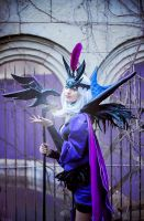 Ravenborn LeBlanc - League of Legends by Shirokii