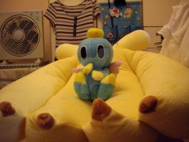 :DIY: Netural chao plushie by sunowi0421