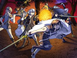 Fire Emblem Awakening colors by angieness