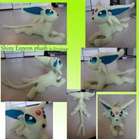 Shiny espeon plush by Fenrienne