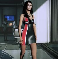 ME3 Mini N7 dress by nameislooney