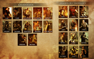 Multiplayer Characters by TombRaider-Survivor