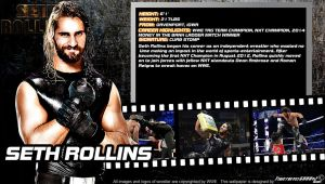WWE Seth Rollins ID Wallpaper Widescreen by Timetravel6000v2