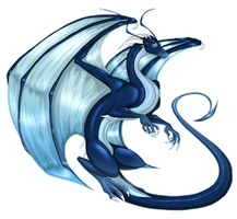 Saphira by TroubleTrain
