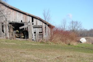 old barn 1 by moonshine09-stock