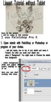 Lineart - Tutorial by Qevna