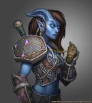 Draenei Female Paladin by Arsenal21