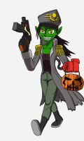 Ork Chan's Halloween Costume by Maxis-Geryon