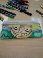 Naaauughty!~ Pencil Pouch by ForgottenDollie