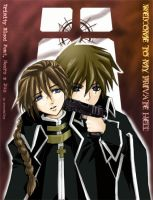 Trinity Blood Feat. 1x2 by crystalkey