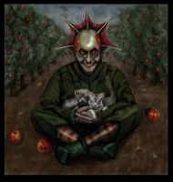 The Apple Gatherer by Rodriguezzz