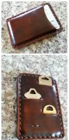 Leather Slot Wallet by passbyguy
