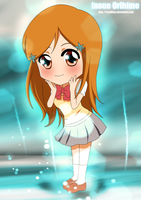 Chibi Inoue Orihime - Coloured by Tremblax