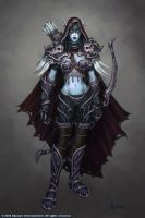 Sylvanas Windrunner by Arsenal21
