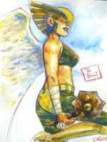 Hawkgirl by riq
