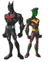Batman and Robin Beyond 2 by phil-cho