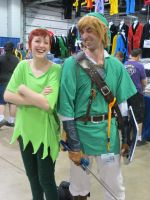Link and Peter Pan 4 by scoldingspirit84