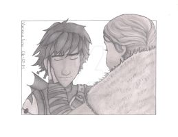 Hiccup and Valka- Httyd2 by aquavanessa27