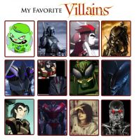 Villains meme by Alienixung